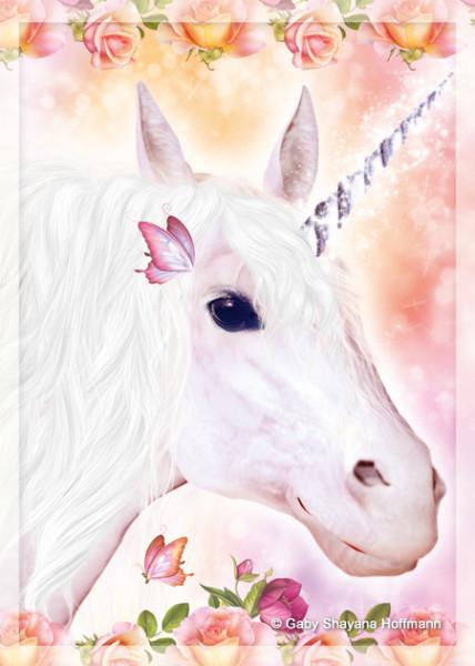 Postkarte - Dein Einhorn