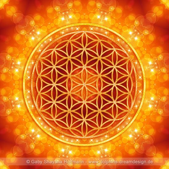 Blume des Lebens - Goldenes Zeitalter