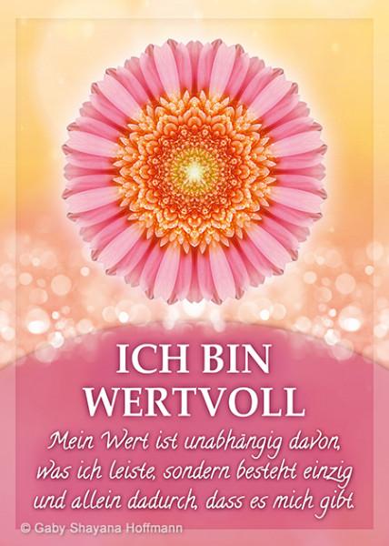 Postkarte - ICH BIN WERTVOLL