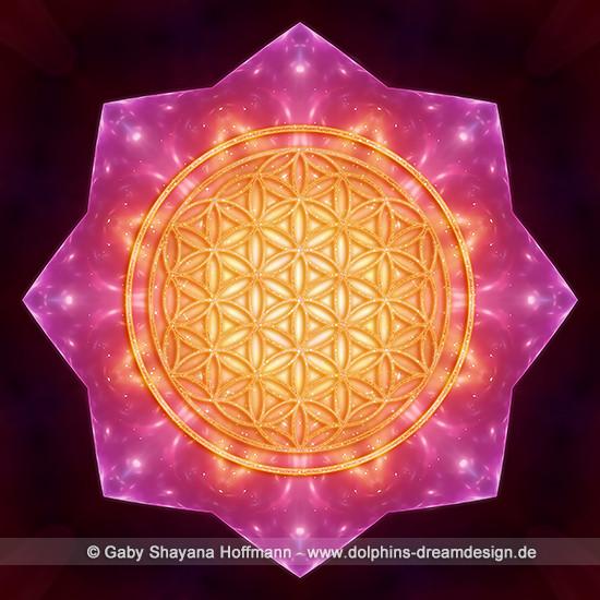 Blume des Lebens - Sternenverbundenheit