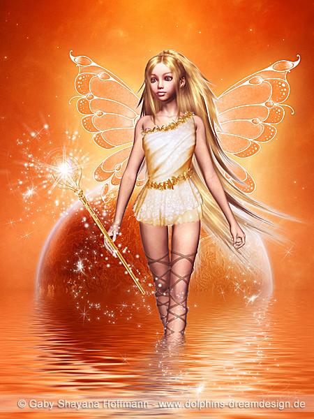 Der Engel für Fülle und Wohlstand