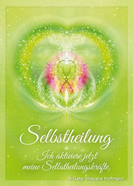Postkarte - SELBSTHEILUNG