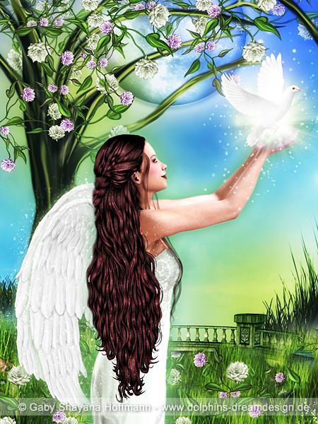 Der Engel des Annehmens