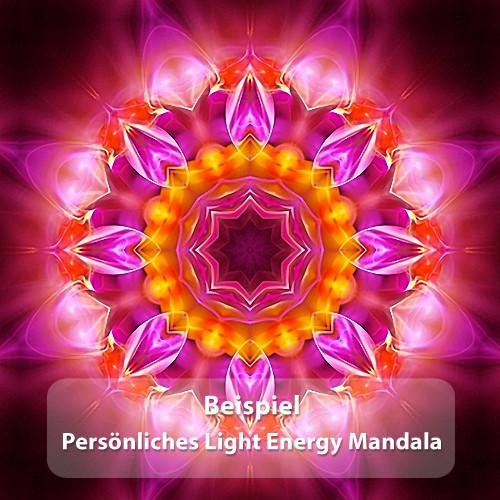 Persönliches Light Energy Mandala